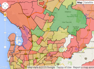 See our interactive map for Adelaide