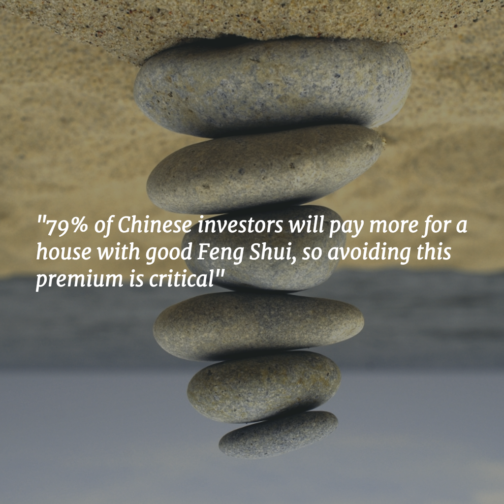 Avoiding the Feng Shui Premium is critical
